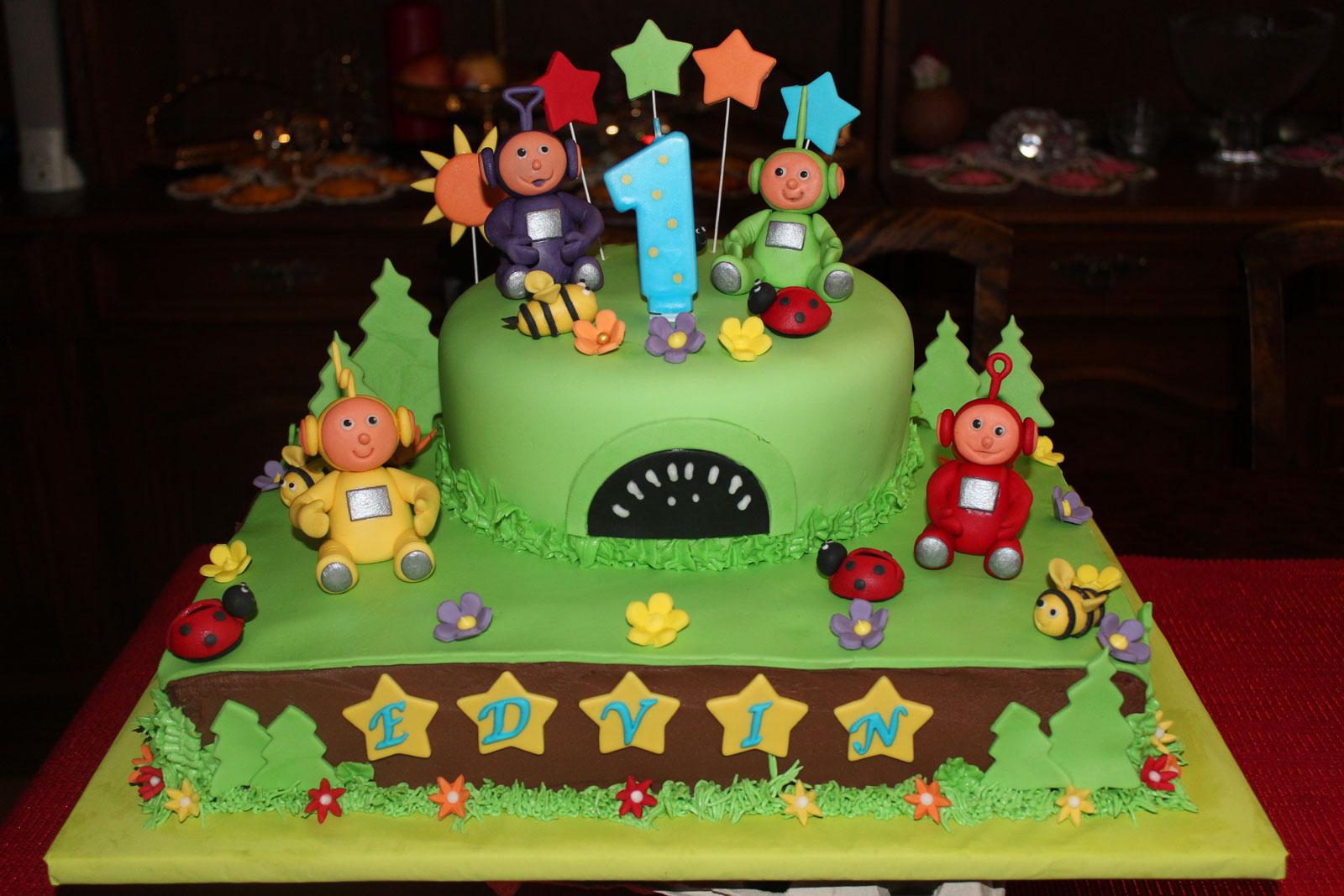 Födelsedagstårta Teletubbies